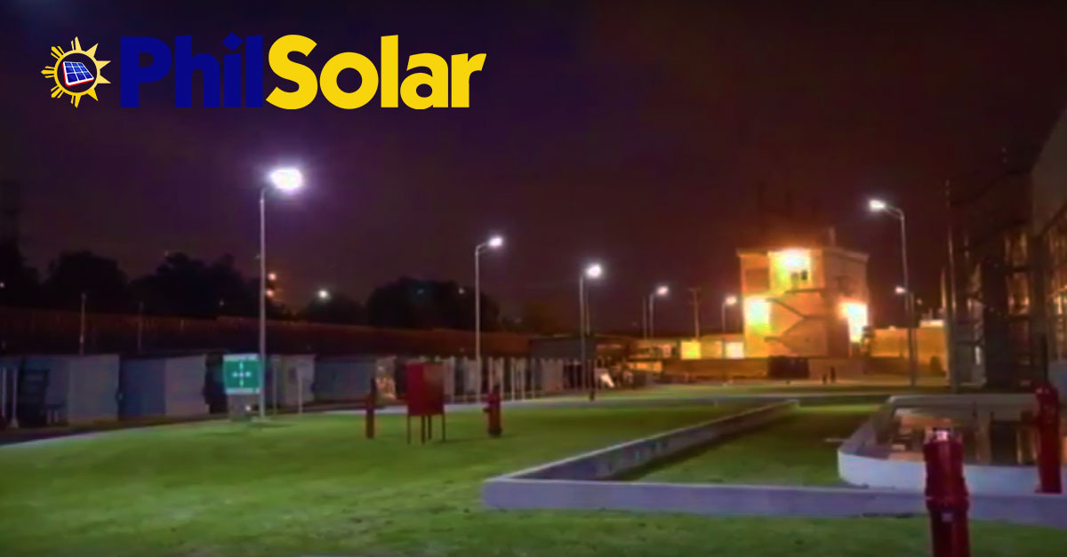 Led Solar Power Street Lights Now In The Philippines From
